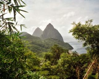 Pitons,StLucia2000